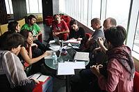 Meeting Wikimania Esino Lario in Mexico City 02.JPG