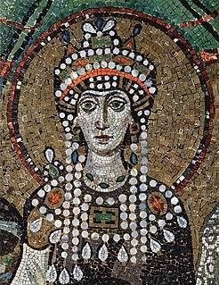 Theodora (6th century) Byzantine empress, wife of Justinian I