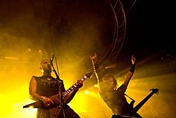 I Melechesh live all'Hole In The Sky al Bergen Metal Fest del 2007 in Norvegia