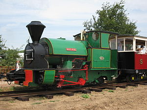 Sittingbourne and Kemsley Light Railway - Melior at Preston, June 2009