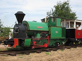Sittingbourne and Kemsley Light Railway - Melior at Preston, June 2009