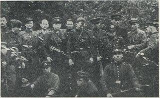 Lithuanian partisans resistance against Soviet regime after World War II