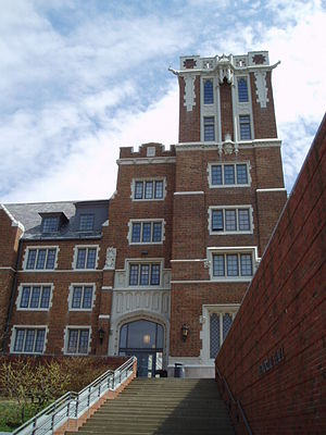 University of Cincinnati – College-Conservatory of Music - Converted from a dormitory in 1996, Memorial Hall now houses many of CCM's practice rooms and teaching studios.