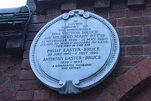 Mrs Victor Bruce - Memorial to the Hon. Mrs Victor Bruce, Golders Green Crematorium