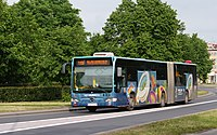 Mercedes-Benz O530G owned by MPK Wrocław (Poland, June 2012).jpg