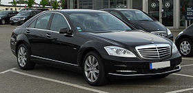 Mercedes-Benz S 350 CDI BlueEFFICIENCY 4MATIC (W 221, Facelift) – Frontansicht (1), 6. Mai 2011, Velbert.jpg