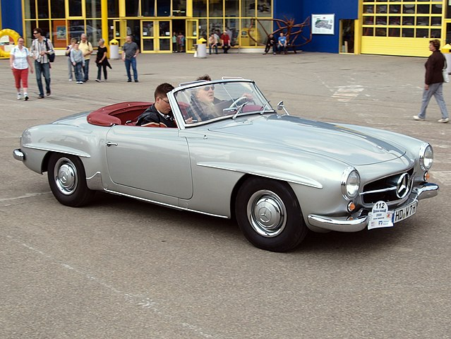 file mercedes benz mercedes 190 sl cabrio p2 jpg. Black Bedroom Furniture Sets. Home Design Ideas