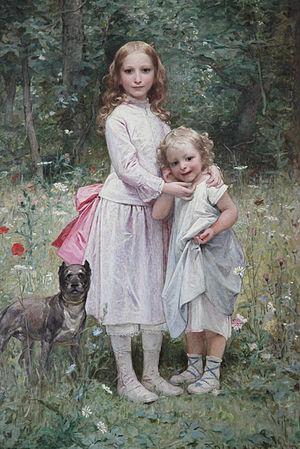 Diogène Maillart - Image: Mes filles, Eva et Jeanne