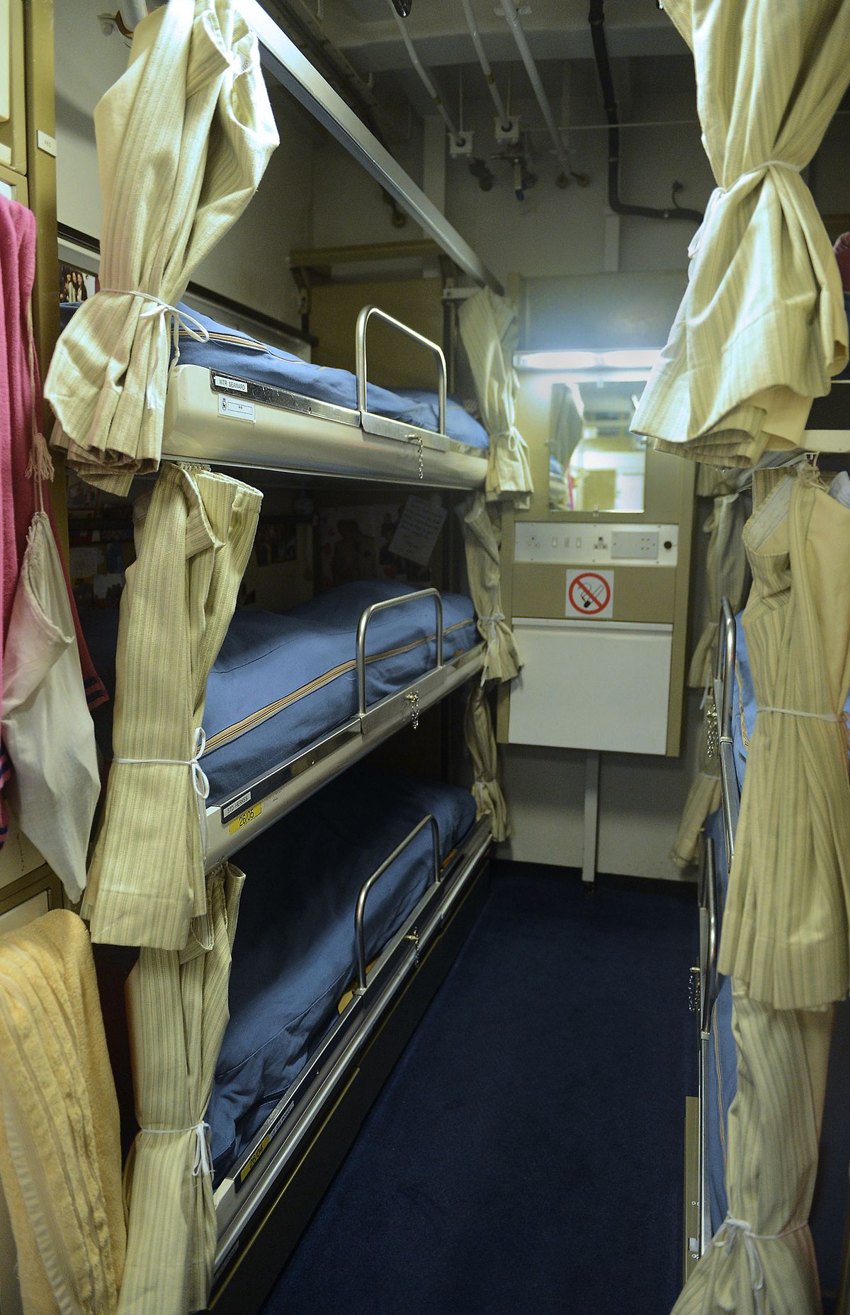 berth sleeping wikipedia