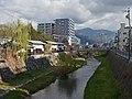 Metoba river , 女鳥羽川 - panoramio (1).jpg
