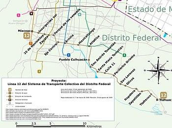 MetroDF Proyecto L%C3%ADnea 12