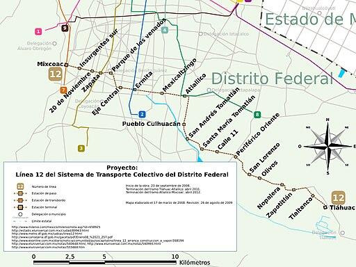 MetroDF Proyecto Línea 12