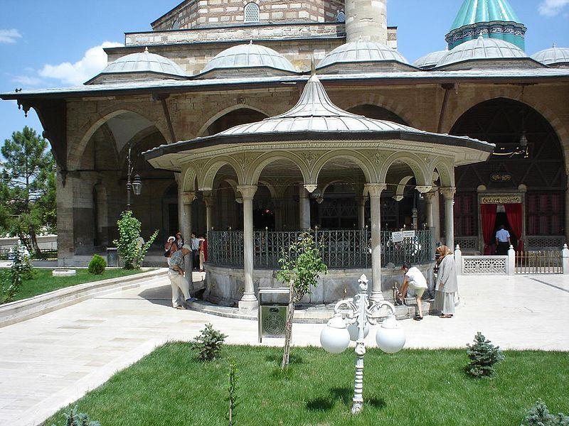 Mevlana museum - Şadirvan 03618.jpg