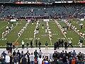 Miami doing calisthenics pregame at 2008 Emerald Bowl.JPG
