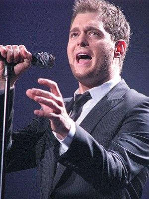 Michael Bublé discography - Michael Bublé on June 21, 2008 at Sydney Entertainment Centre.