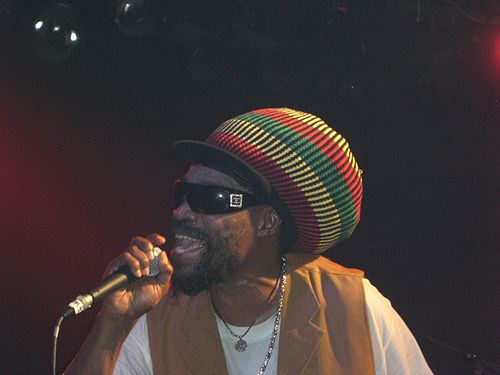 Michael Rose van Black Uhuru live in Dortmund