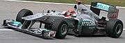 Michael Schumacher 2011 Malaysia FP1 2