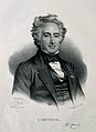 Michel Eugène Chevreul. Lithograph by N. E. Maurin after him Wellcome V0001105.jpg