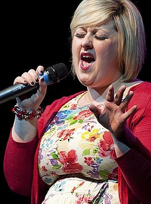 Michelle McManus - McManus performing live at the Glasgow Woman of the Year event in March 2010