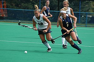 Michigan Wolverines field hockey - The 2010 Michigan field hockey team in action at Penn State