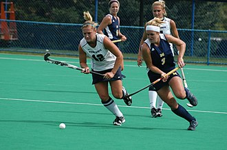 Michigan Wolverines - The 2010 Michigan field hockey team in action at Penn State