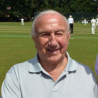 Micky Stewart English Test and County cricketer, coach, administrator