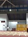 Mihrab dan mimbar masjid taman wangi.jpg