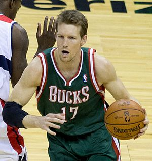 Mike Dunleavy Jr. - Dunleavy with the Milwaukee Bucks in 2013