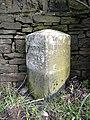 Milestone, Penistone Road A629, Kirkburton - geograph.org.uk - 785905.jpg