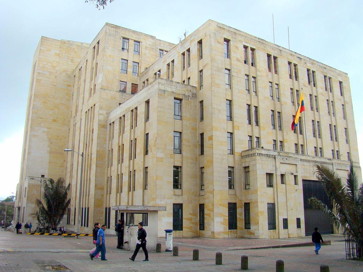 Ministry of finance and public credit colombia wikipedia for Ministerio del interior colombia