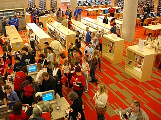 Minneapolis Public Library - Interior of Central Library in 2006