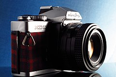 Minolta XD11 in flannel (6816991020).jpg