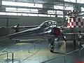Mirage IIID - O avião tem o nome do Cel. Av. Antonio Henrique Alves dos Santos(Jaguar 01), primeiro piloto brasileiro a voar uma aeronave supersônica. Em março de 1989, Ayrton Senna experimentou a sens - panoramio.jpg