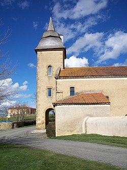 Miramont-d'Astarac Church, Gers, France.JPG