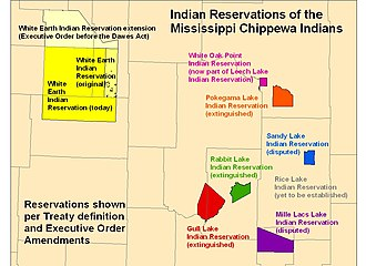 Mississippi River Band of Chippewa Indians - Reservations of the Mississippi Chippewa in Minnesota