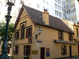 Bank Place, Melbourne - Mitre Tavern and Mitre Lane