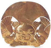 Mochica Headress. A big part of Culture  of Trujillo city has a great legacy of its ancestors Moche and Chimu, Who had their capital cities in the actual Trujillo metropolitan area.