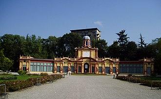 Orto Botanico dell'Università di Modena e Reggio Emilia - Vigarani Palace in the Public Gardens