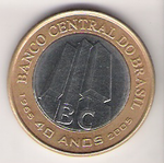 40th anniversary of the foundation of the Brazilian Central Bank.