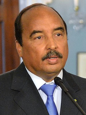 Mauritanian presidential election, 2014 - Image: Mohamed Ould Abdel Aziz August 2014 (cropped)