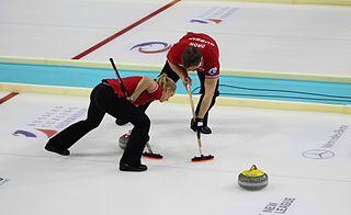 Petr Dron Russian curler