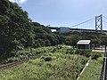Mojiko Retro Scenic Line near Kammonkaikyo Mekari Station.jpg