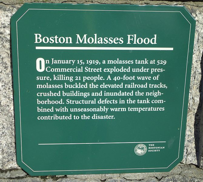 File:Molasses Flood Historical Marker.jpg