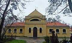 Współczesny (2016) widok budynku monasterskiego