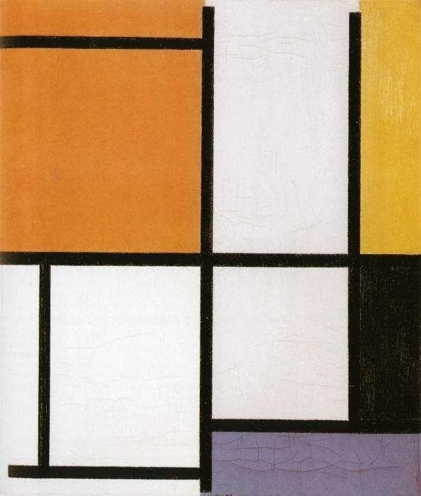 Mondrian, Compositie 1921