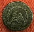Monetiere di fi, moneta romana imperiale di traiano per costruz. dell'aqua traiana.JPG