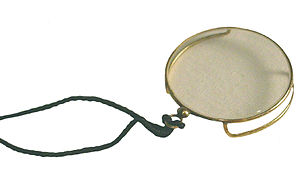 Monocle - An early-20th-century gold-filled monocle with gallery
