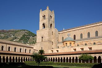 Monreale Cathedral - The cloister.