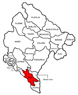 Bar Municipality in Montenegro