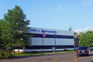 Montgomery, New York - Town Hall, on Bracken Road